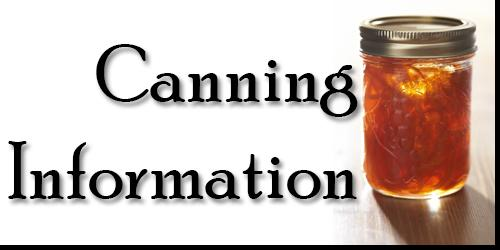 get started canning