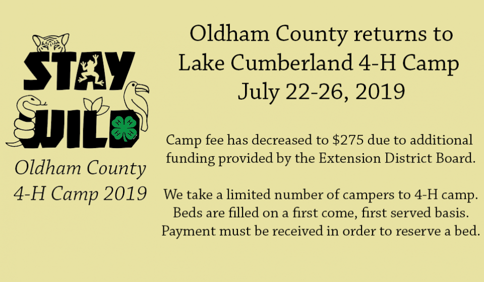 oldham county 4-H camp