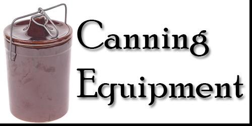 canning equipment