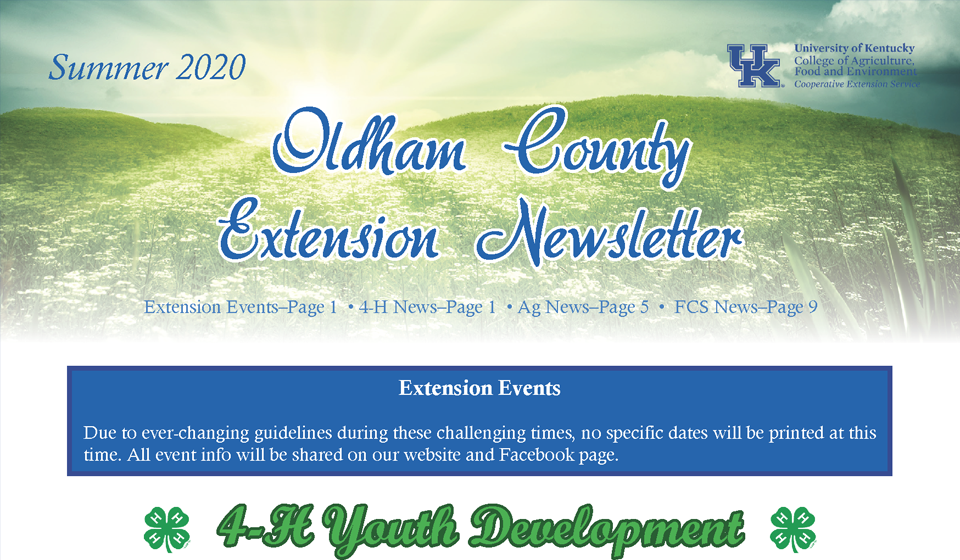 oc extension news
